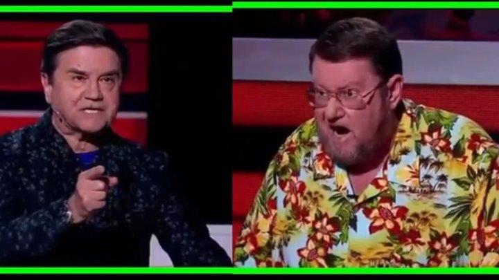 Сатановский против украинского бородавочника в программе Соловьева