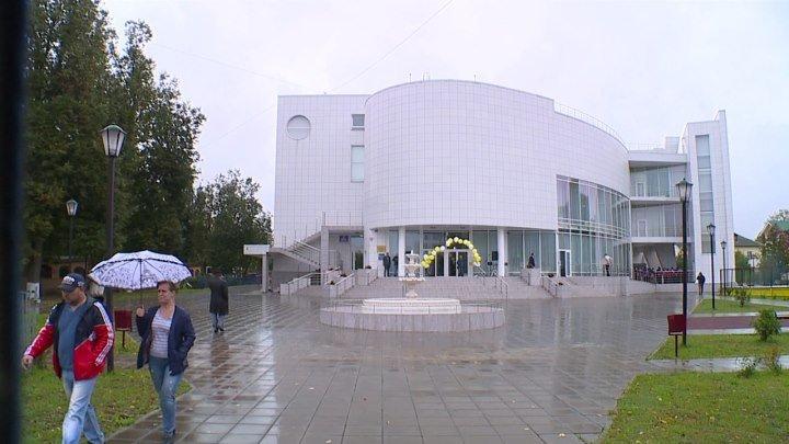 Дом культуры «Быково» в стиле хай-тек открыли в День города.