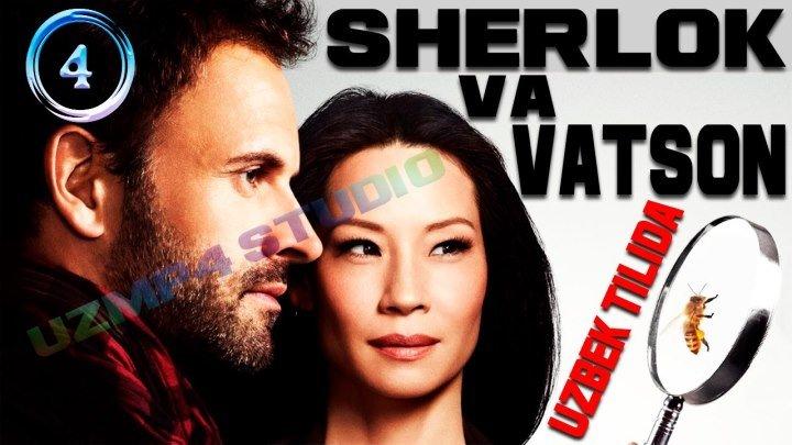 Sherlok Holms va Doktor Vatson 4-Qism (Yangi Talqinda) O'zbek tilida HD