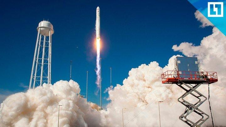 Запуск ракеты-носителя Antares