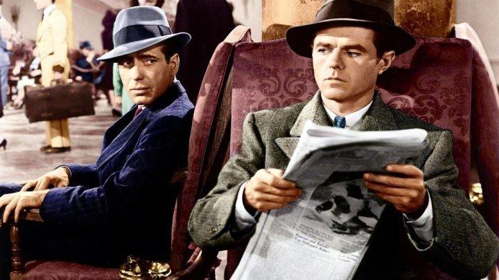 The Maltese Falcon (1941) (Colour Version ) Humphrey Bogart, Gladys George, Mary Astor, Peter Lorre Sydney Greenstreet, Barton MacLane, Elisha Cook Jr.,