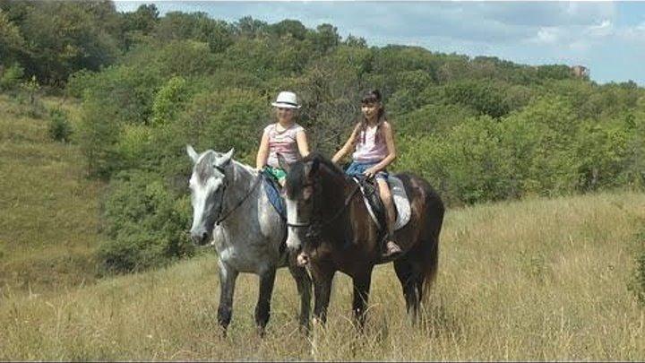 Ангелина ★ Маша ★ лошадки и донские пейзажи ★ Прогулка с фотосессией