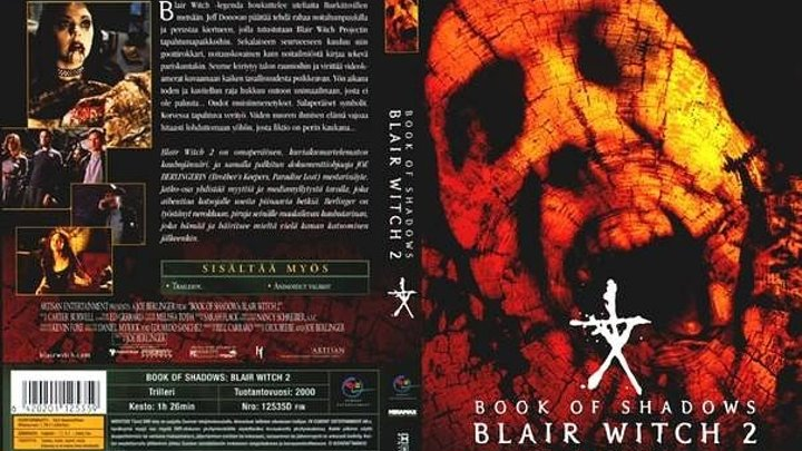 Фильм Ведьма из Блэр 2 Книга теней (2000) ужасы, фэнтези,
