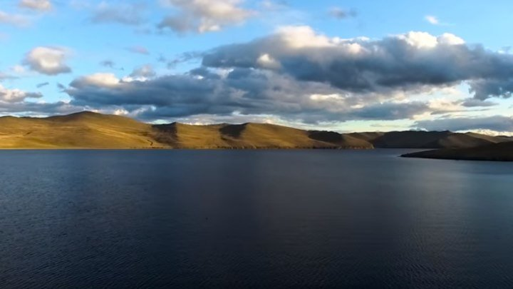 Байкал с высоты птичьего полета. Какая мощь и красота!!!