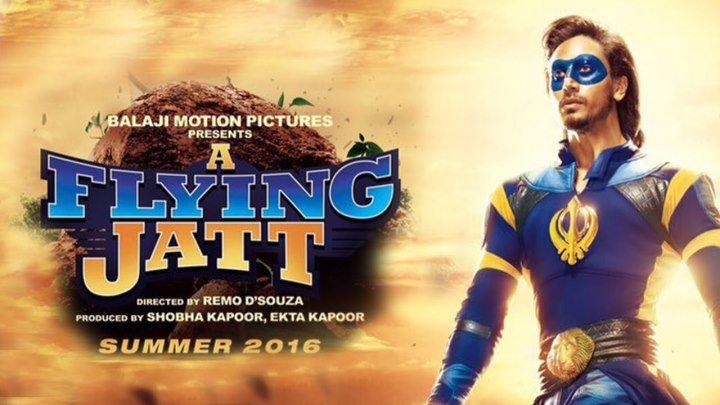 Летающий Джатт (2016) - фантастика, фэнтези, боевик, комедия, приключения