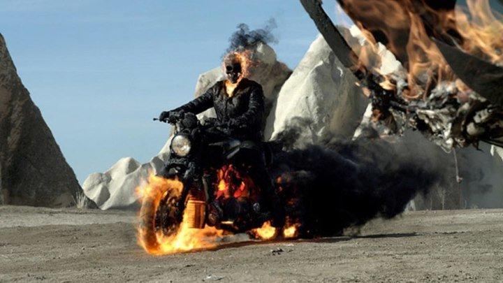 Призрачный гонщик 2 / Ghost Rider: Spirit of Vengeance 2011 HD (фэнтези, боевик, триллер)