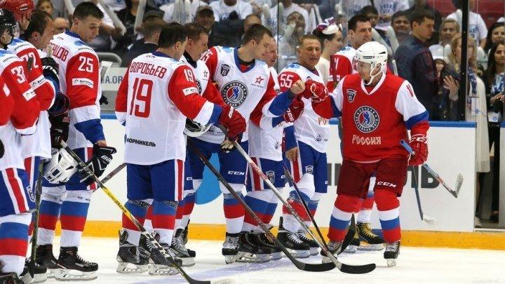 НХЛ. Гала-матч Ночной Хоккейной Лиги 2018. 10 мая 14.00