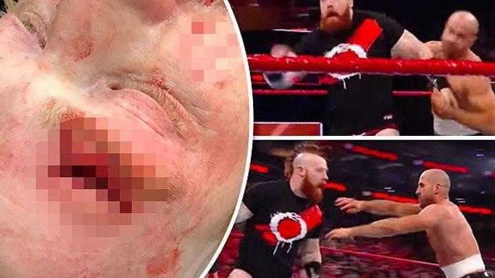ЖЕСТОКИЕ ДРАКИ В WWE (не для слабонервных !!!)