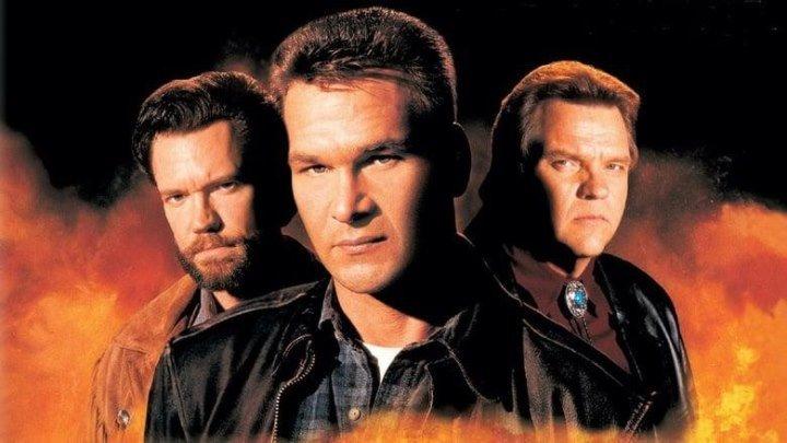 Черный пес (1998) HD 720p Боевик, Триллер, Драма, Криминал. Гл.роли Патрик Суэйзи, Мит Лоаф, Рэнди Трэвис