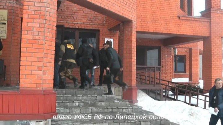 В Липецке ФСБ приостановилa работу ГИБДД и задержала 3-х сотрудников полиции!