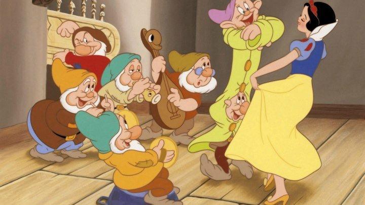 Белоснежка и семь гномов (1937 HD) Фэнтези, Мелодрама, Мюзикл, Семейный, Мультфильм