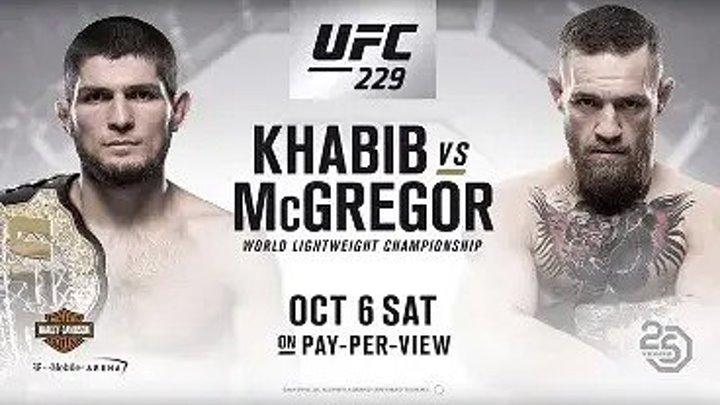 "ПОЛНЫЙ БОЙ Хабиб Нурмагомедов vs Конор Макгрегор ПОЛНЫЙ БОЙ ""UFC 229 HD"""