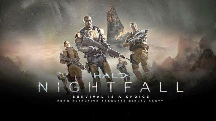 "Трейлер к фильму ""Halo: Сумерки"" (Halo: Nightfall) на английском"