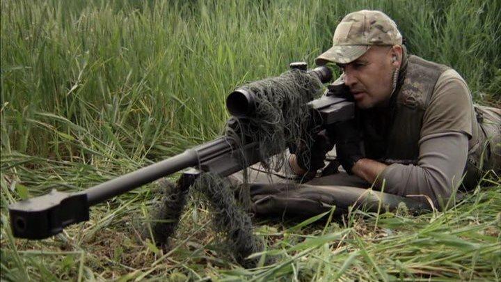 Снайпер Призрачный стрелок. Боевик, Драма, Военный.