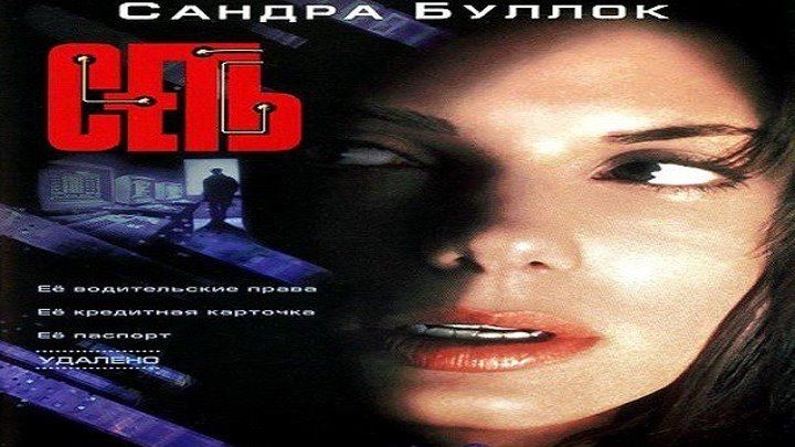 Сеть (США, 1995) ..... (боевик, триллер, драма, криминал, детектив)