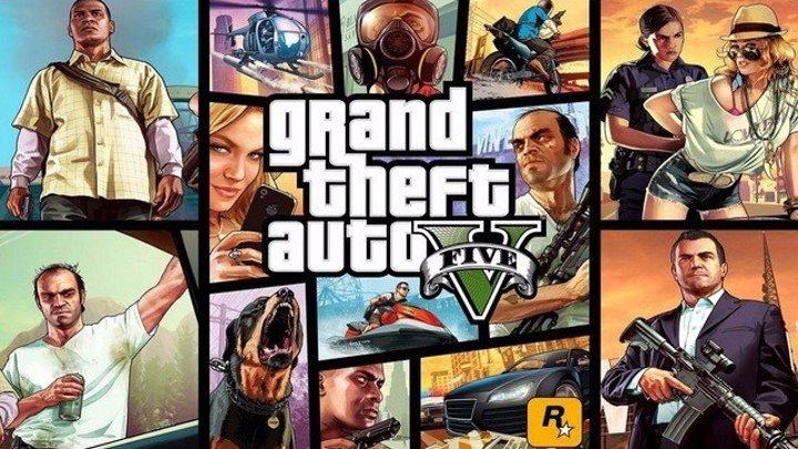 GTA 5 РУССКАЯ ОЗВУЧКА [ 18+ ] | ВЕСЬ СЮЖЕТ GTA V | ИГРОФИЛЬМ