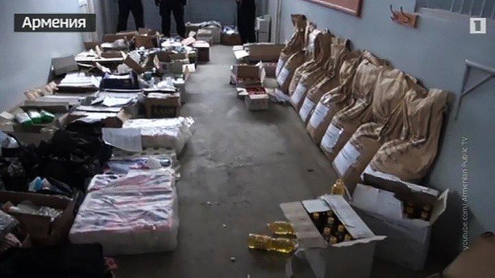 В особняке армянского депутата нашли много денег и гуманитарную помощь