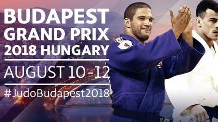 Гран-при Будапешта по дзюдо 2018. День 2. 11 августа в 17:00