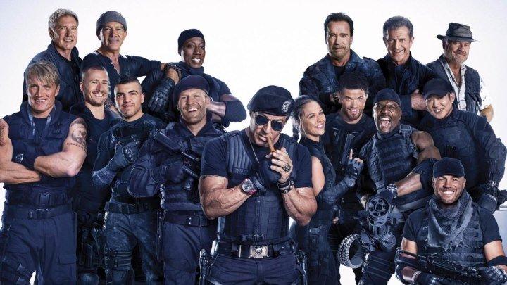 Неудержимые 3 (2014) боевик, триллер, приключения