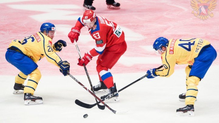 28 апреля 2018. Евротур. Шведские игры. 2-й тур. Швеция - Россия 3 - 1.