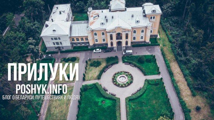 Прилуки с воздуха. Дворцово-парковый комплекс Чапских.