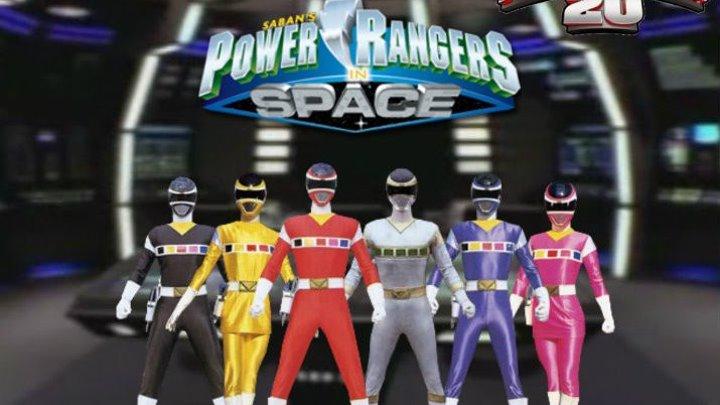 Могучие Рейнджеры в Космосе-1 серия