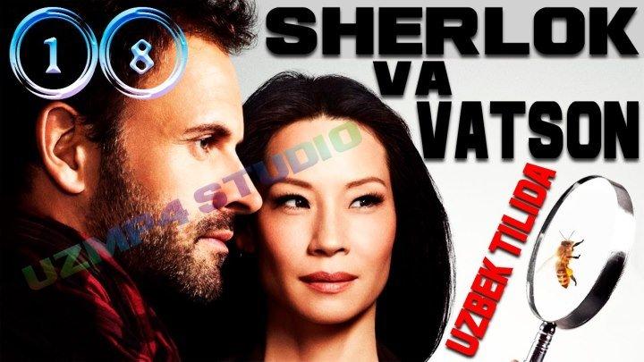 Sherlok Holms va Doktor Vatson 18-Qism (Yangi Talqinda) Rus tilida HD