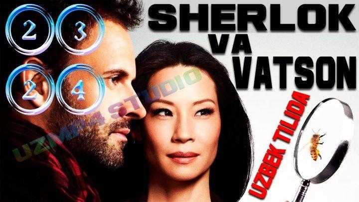 Sherlok Holms va Doktor Vatson 23-24-Qismlar (Yangi Talqinda) Rus tilida HD