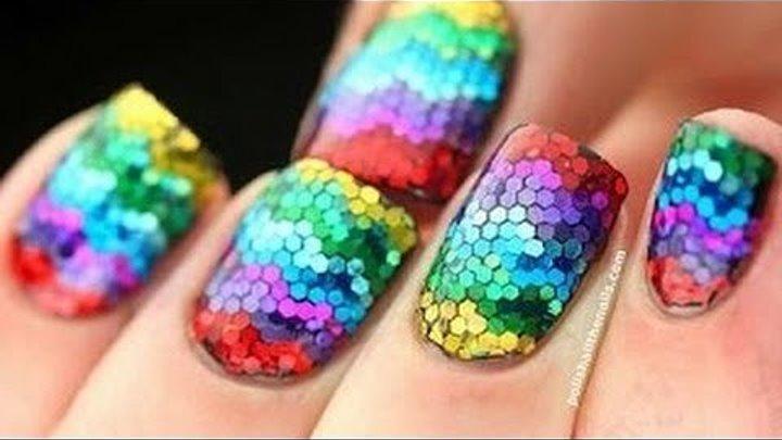 Топ 30 удивительного дизайна ногтей!