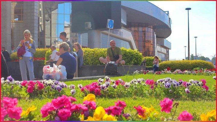Мой любимый и самый красивый город земли - Минск! 1 сентября 2018г. Беларусь.