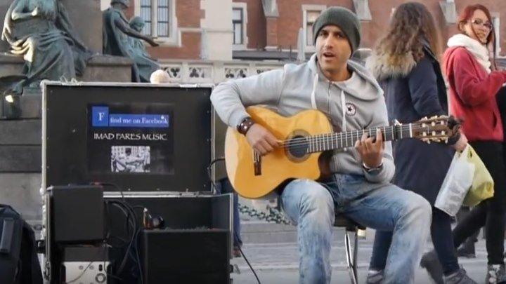 ____УДИВИТЕЛЬНЫЙ уличный НОМЕР с гитарой ____