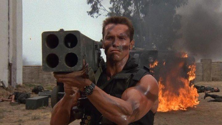 Коммандос (США 1985 HD) 16+ Боевик, Драма, Триллер, Приключения