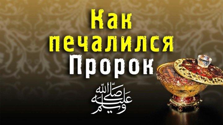 Как печалился пророк Мухаммад ﷺ