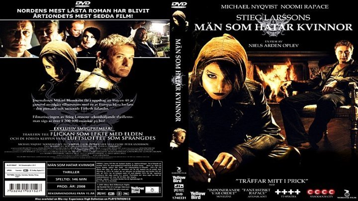 Девушка с татуировкой дракона (2009) - триллер, драма, детектив