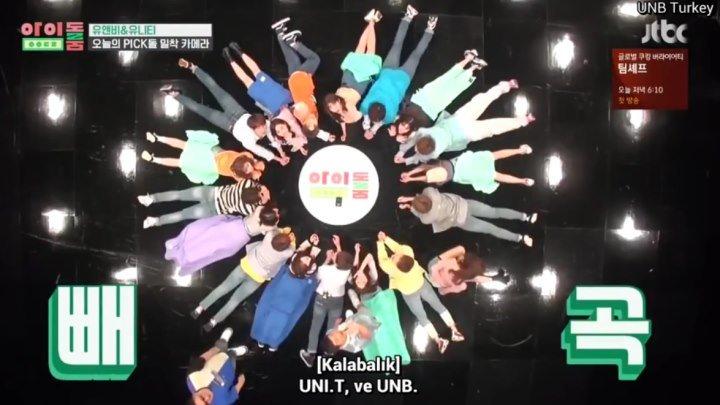 Idol Room Ep 8 UNB & UNI T [Türkçe Altyazılı]