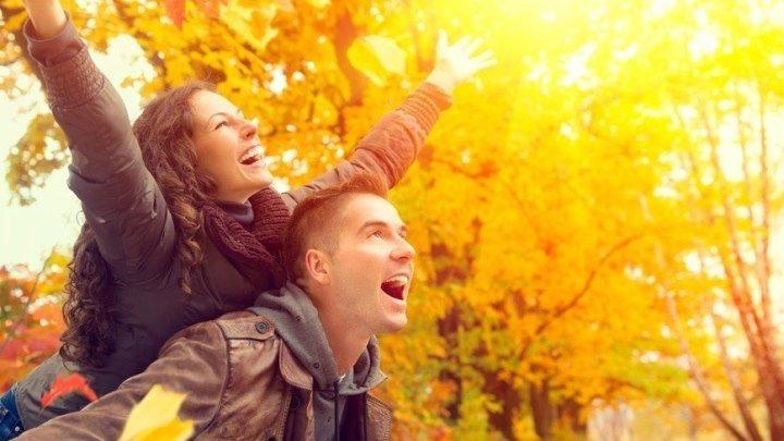 #НОСТАЛЬГИЯ - `Листья жёлтые над городом кружатся`_ОЧЕНЬ КРАСИВЫЙ КЛИП!!