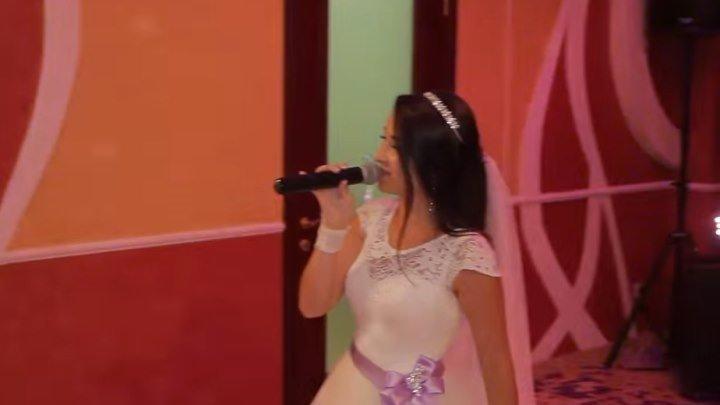 Невеста поёт песню для папы....Как это трогательно и красиво!!!