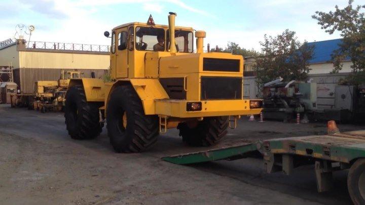 Отправка трактора Кировец К 701