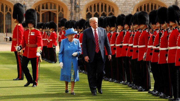 Всего 10 минут, ничего страшного: Английская королева терпеливо ждет Трампа на чай