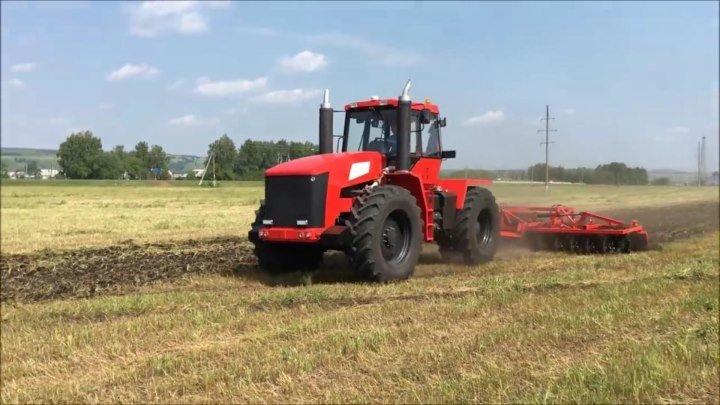 Дискование поля трактором Т-360