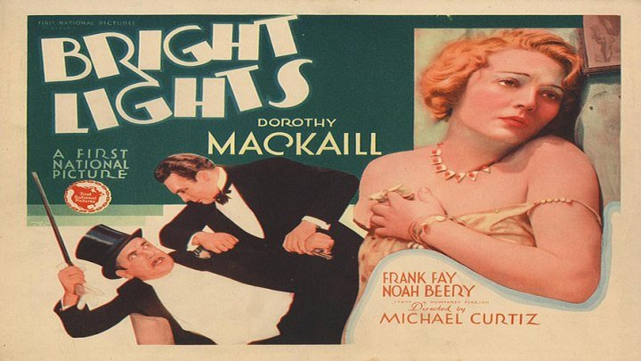 Bright Lights 💡 (TV Title: Adventures In Africa) starring Dorothy Mackaill, Frank Fay, Noah Beery and Frank McHugh!