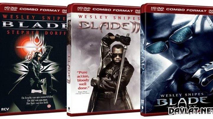 «Блэйд»: 1..2..3.фантастика, фэнтези,
