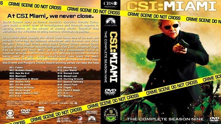 Место преступления. Майами [201 «Брак, заключённый в аду»] (2011) - криминальный, триллер, драма, детектив