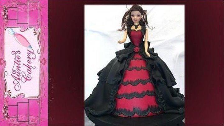 Украшение торта - Готическая королева