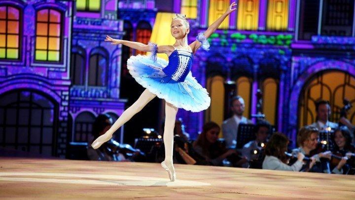 "Просто чудо! Прекрасная юная балерина Наташа Фурман/ ""Синяя птица"""