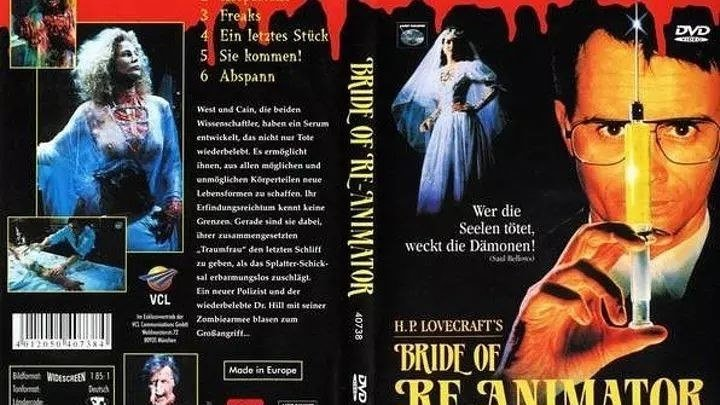 ужасы, фантастика-Невеста реаниматора.(1989)720p