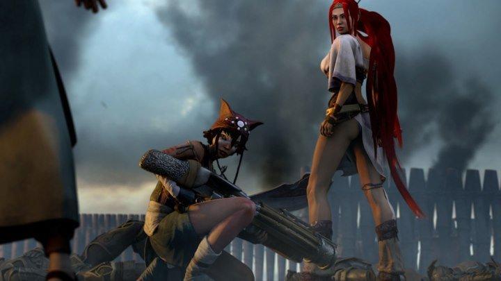 Небесный меч. мультфильм, фэнтези, боевик, приключения