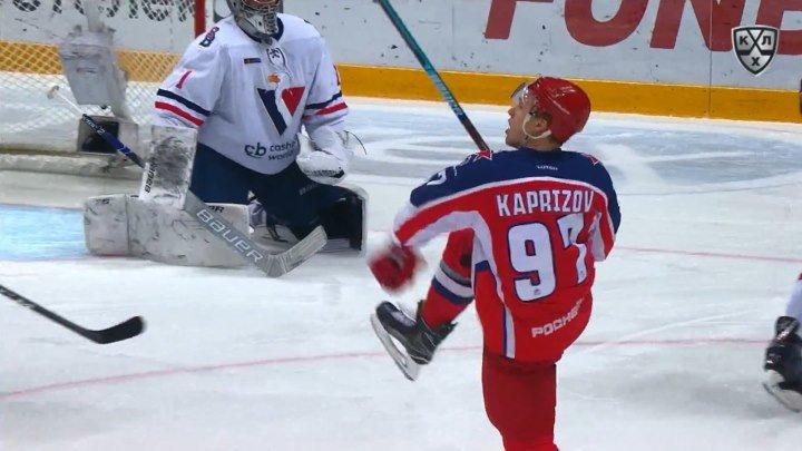 Хет-трик Капризова в ворота «Слована»