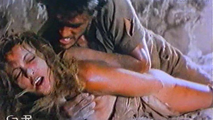 сексуальное насилие(бдсм,bdsm, бондаж, изнасилование,rape) из фильма: Fuga scabrosamente pericolosa - 1985 год, Элеонора Валлоне