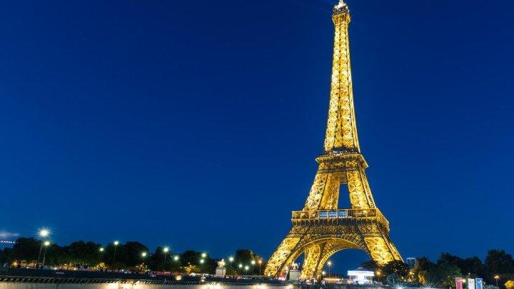 Париж - вид с Эйфелевой башни (Франция)